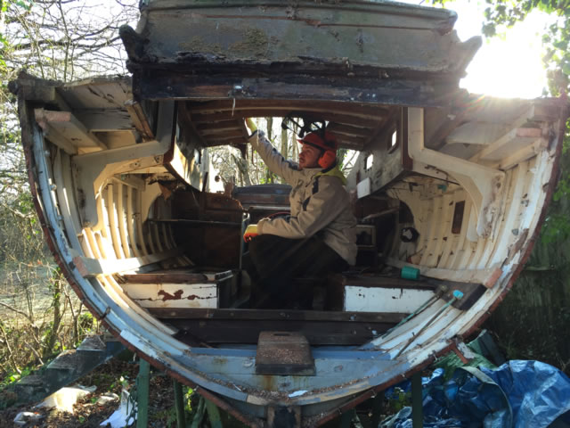 Scrap My Boat - We Scrap Wooden Boats